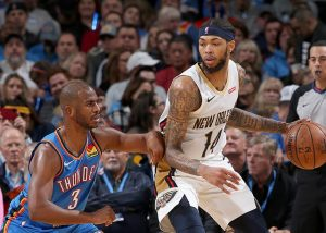 Oklahoma City Thunder 109-104 New Orleans Pelicans