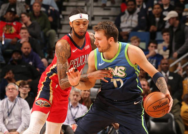 Dallas Mavericks 118-97 New Orleans Pelicans