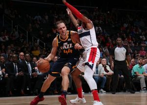 Utah Jazz 127-116 Washington Wizards