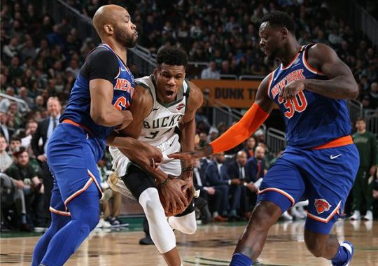 Milwaukee Bucks 128-102 New York Knicks