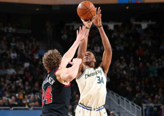 Milwaukee Bucks 111-98 Chicago Bulls