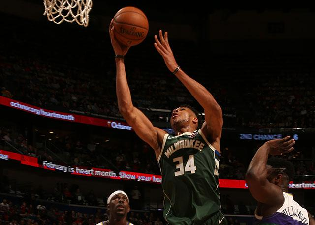 Milwaukee Bucks 120-108 New Orleans Pelicans
