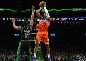 Oklahoma City Thunder 105-104 Boston Celtics